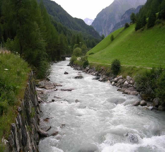 River an austrian river is situated in osttirol one of the main rivers