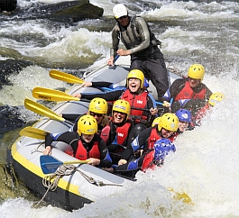 River Tay white water rafting