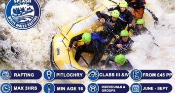 White Water Rafting Scotland River Tummel