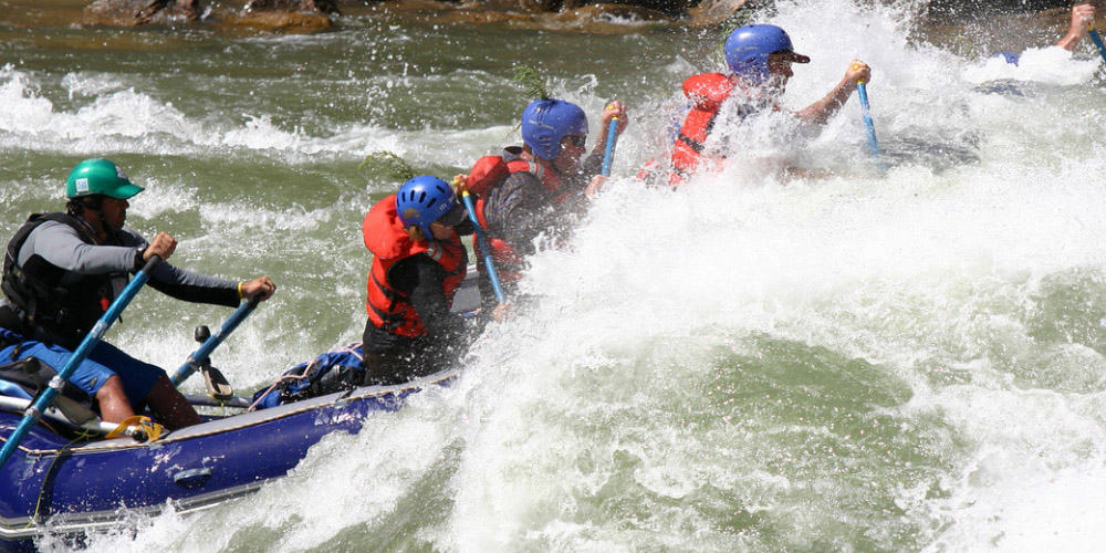 White Water Rafting Rivers of the World