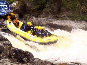 Tummel-rafting