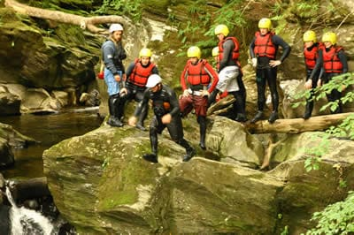 Canyoning -Splash White Water Rafting
