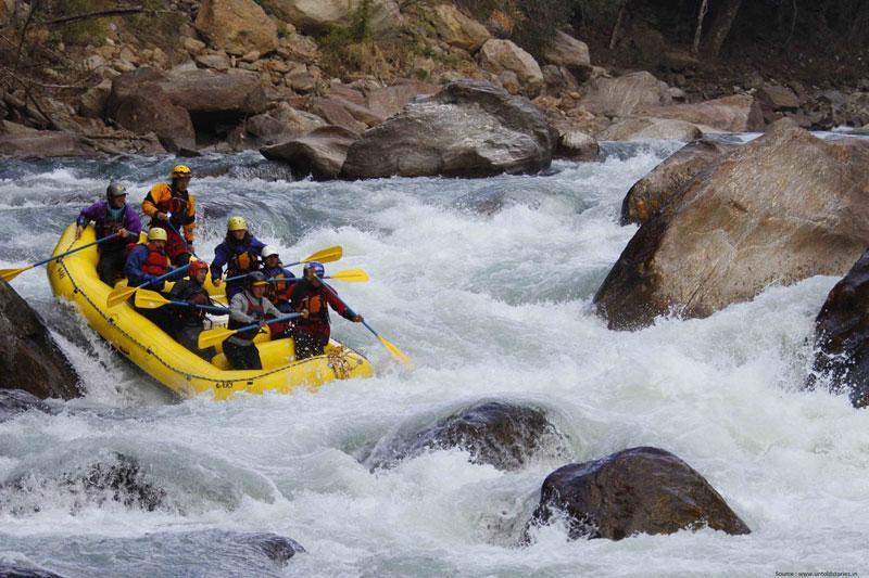 Subansari river rafting