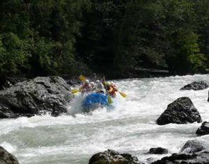 East Glacial River White Water Rafting