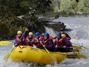 Elaho River Whitewater Rafting