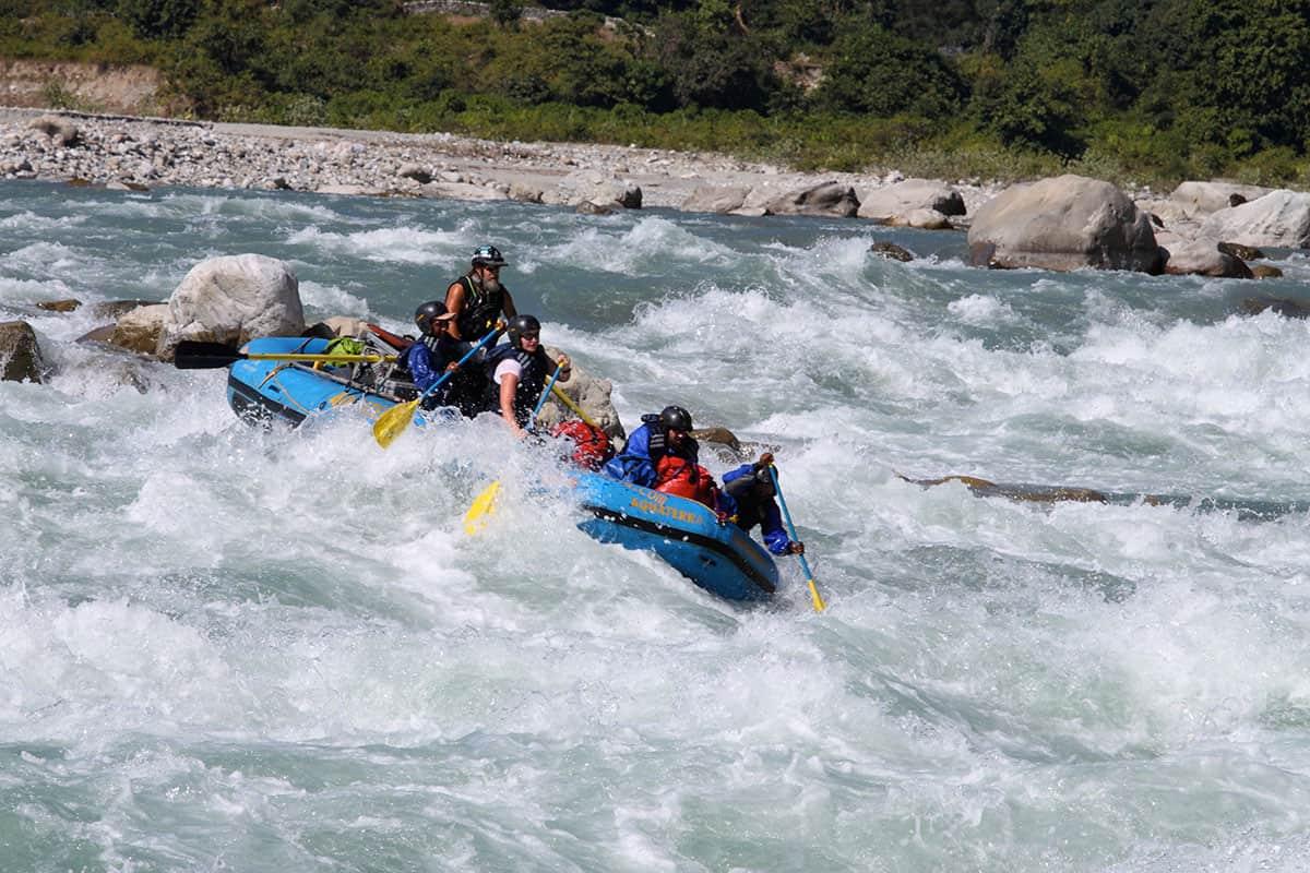 Kali/Sarda White Water Rafting