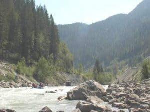 Kicking Horse River Rafting