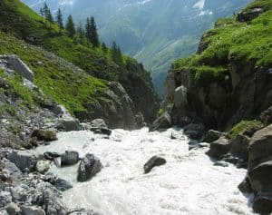 Lütschine River, Switzerland