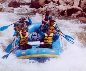 Rafting the Arkansas River, Colorado
