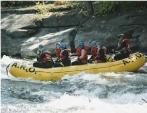 Rafting the Black River Canyon of New York