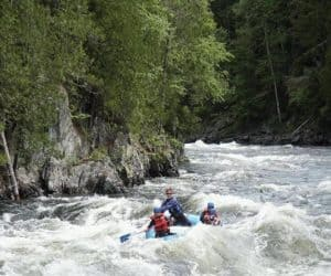 Rafting the Kennebec River, Maine