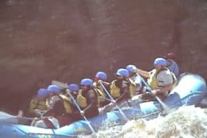 Rafting the Penobscot River, Maine