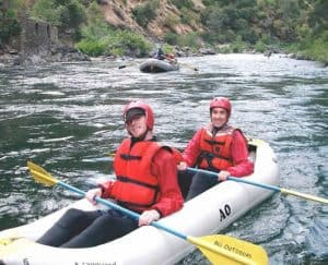 Rafting the Tuolumne River