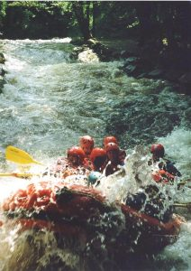 River Tryweryn White Water Rafting