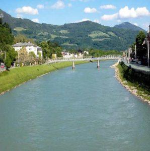 Salzach River, Austria