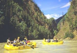 Taku River White Water Rafting