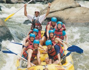 The Baron River, Whitewater Rafting Australia