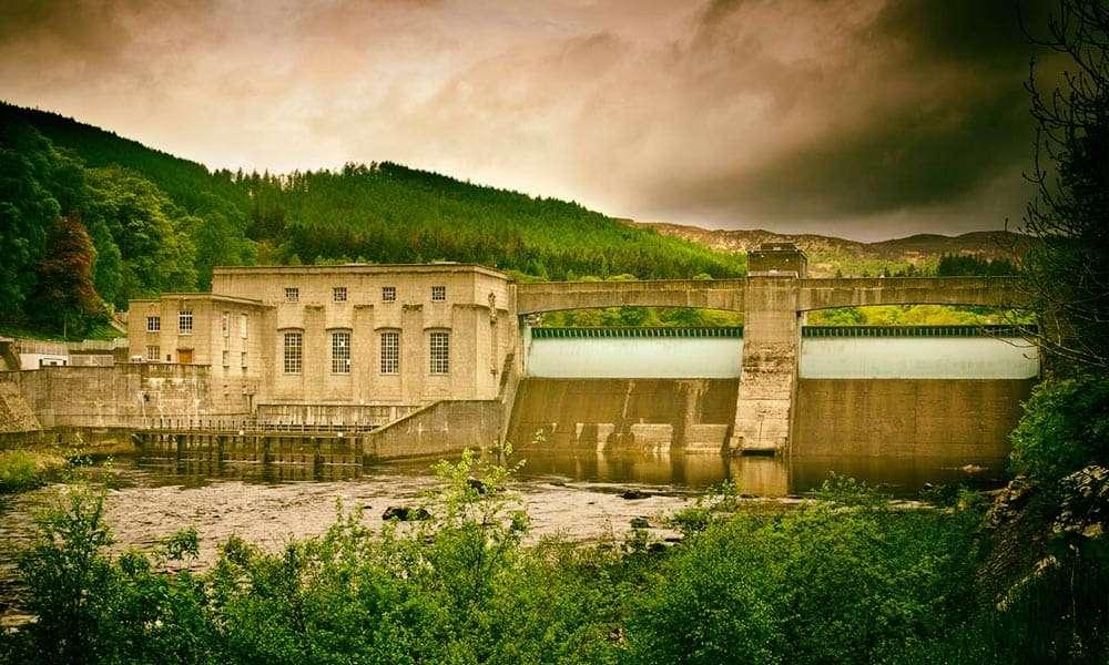 Pitlochry-fishladder-dam