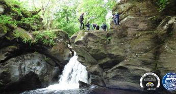 Canyoning-in-the-rain-splash-3