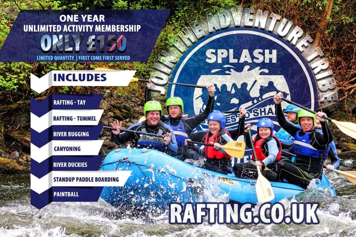 Rafting Deals Scotland