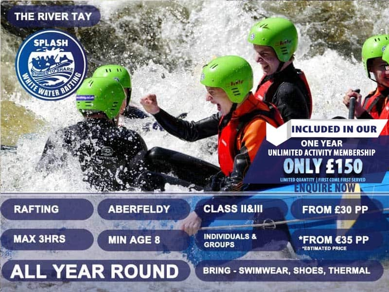 River-Tay-White-Water-Rafting