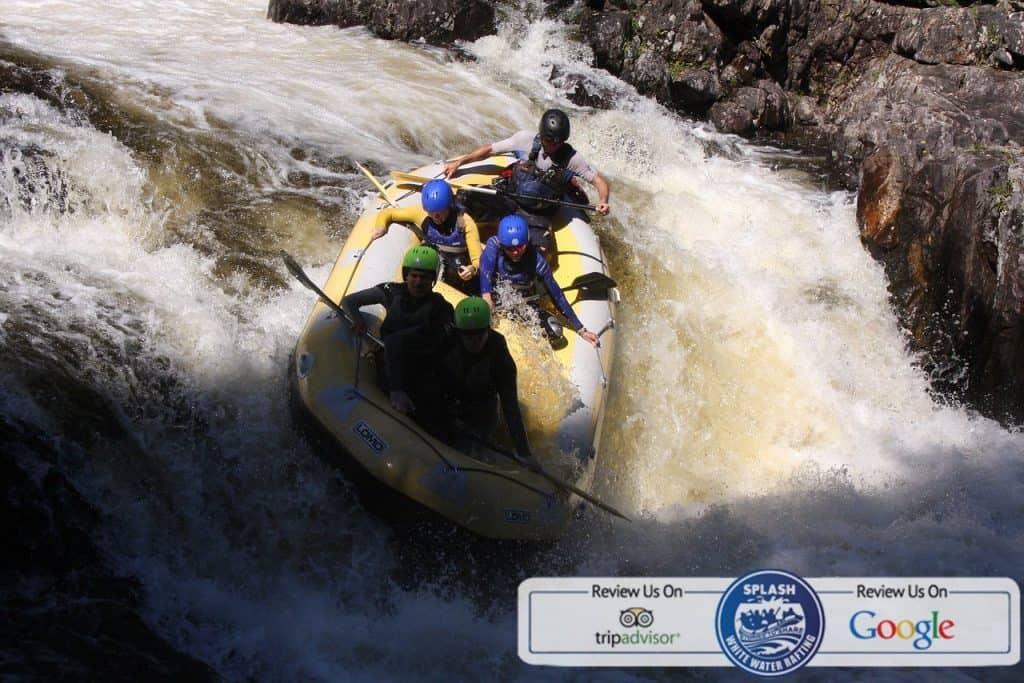 steve carroll head guide at splash rafting aberfeldy